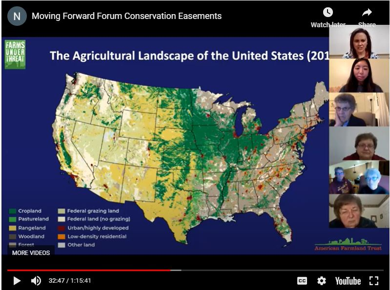 Moving Forward Forum – Conservation Easements
